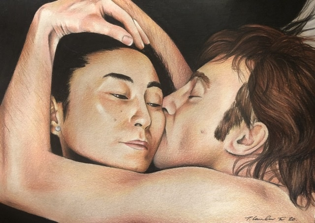 Yoko Ono, John Lennon par TraceyLawler
